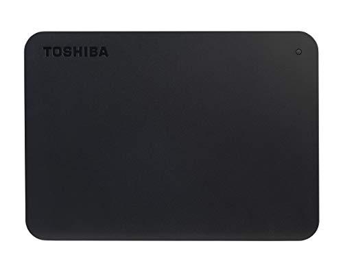 Toshiba HDTB410EK3AA Canvio Basics Tragbare Externe Festplatte USB 3.0, 1TB schwarz