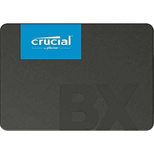 Crucial BX500 480GB CT480BX500SSD1(Z)-bis zu 540 MB/s Internes SSD (3D NAND, SATA, 2,5-Zoll)
