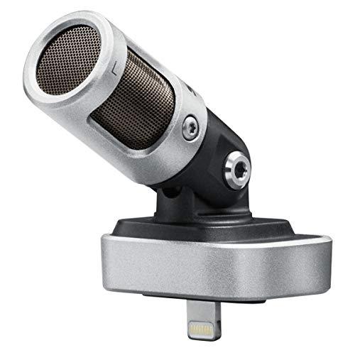 Shure MV88 – Digitales Kondensatormikrofon mit Lightning-Anschluss für iPhone, iPad und iPod – Mobiles Mikrofon für hochwertige Aufnahmen mit dem Smartphone