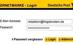 Jeden Tag gehen wir mit einer Vielzahl von Passwörtern um. Was ist ein sicheres Passwort? (Bildrechte: FRAGDENSTEIN.DE/ Stein)