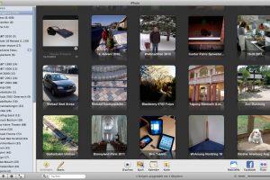 iPhoto speichert alle Fotos in einer einzigen Datei ab. (Bildrechte: FRAGDENSTEIN.DE/ Stein)