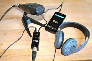 Auch andere Smartphones wie das Blackberry Z10 eignen sich für professionelle Tonaufnahmen. (Bildrechte: FRAGDENSTEIN.DE/ Stein)