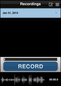 Die App iRig Recorder gibt es kostenlos für iOS. (Bildrechte: FRAGDENSTEIN.DE/ Stein)