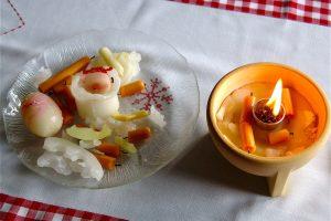 Mit einem Schmelzfeuer lassen sich Kerzenreste verwerten. (Bildrechte: FRAGDENSTEIN.DE/ Stein)