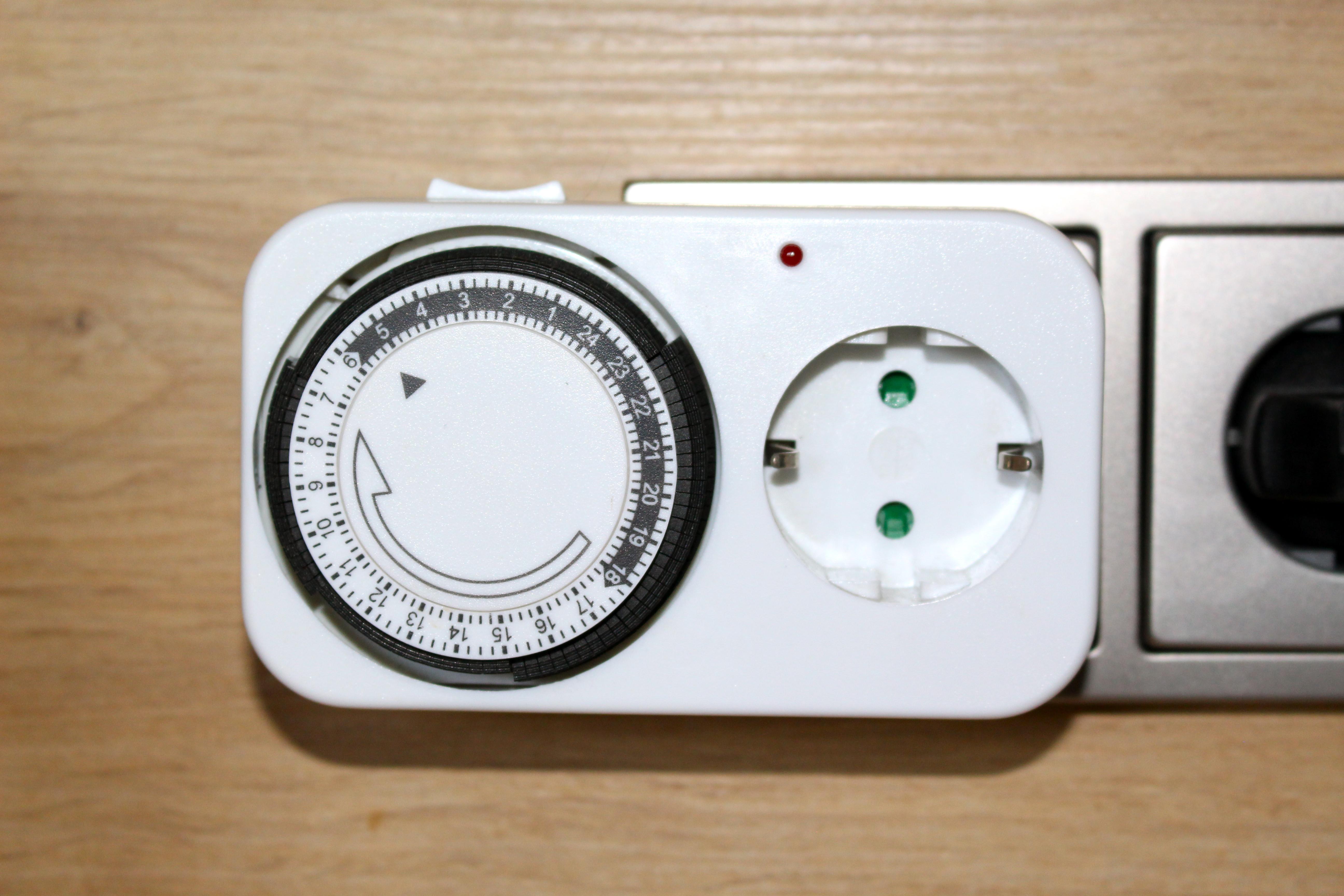 wie stellt man eine zeitschaltuhr ein