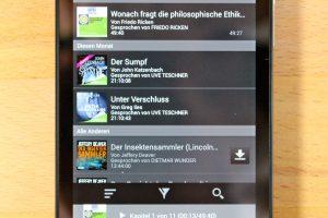Für Blackberry-10-Smartphones gibt es keine App für Audible-Hörbücher. Aber es gibt einen Trick, mit dem man trotzdem Audible auf Blackberry 10 nutzen kann. (Bildrechte: FRAGDENSTEIN.DE/ Stein)
