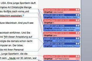 Wie kann man bei Word alle Markups löschen, wenn man die fertige Datei ohne Anmerkungen und Kommentare an einen Dritten weitergeben will? (Bildrechte: FRAGDENSTEIN.DE/ Stein)