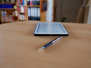 Digitaler Stift fürs iPad oder Smartphone: Adonit Jot Pro (Bildrechte: FRAGDENSTEIN.DE/ Stein)