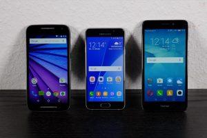 Das beste Smartphone unter 200 Euro (Bildrechte: FRAGDENSTEIN.DE/ Stein)