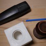 Aus dem LED-Licht wird im Handumdrehen ein professioneller Mikrofonwürfel. (Bildrechte: FRAGDENSTEIN.DE/ Stein)