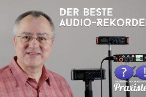 Drei Audiorekorder - welcher ist der beste? (Bildrechte: FRAGDENSTEIN.DE/ Stein)