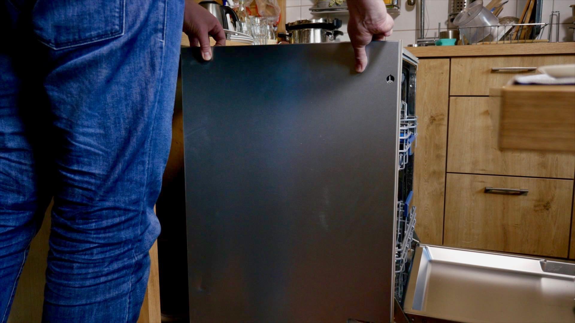 Spülmaschinen Tür Fällt Nach Unten Wie Kann Ich Das Reparieren